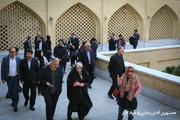 تهران | مسجد جامعی از محله امیریه بازدید کردند