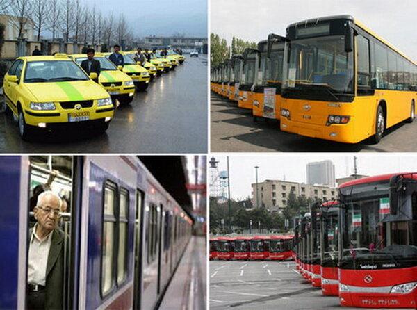 کرایههای حمل و نقل عمومی از امروز در تهران افزایش مییابد
