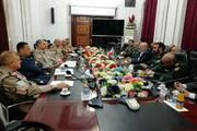 معاون وزیر دفاع ایران با رئیس ستاد مشترک عراق دیدار کرد