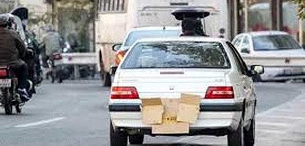 جریمه ۲۲۸ هزار خودرو در تهران به دلیل مخدوشی پلاک