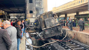دهها کشته و زخمی در آتشسوزی ایستگاه قطار در مصر