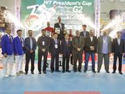 ایران قهرمان تکواندوی نوجوانان جام ریاست فدراسیون جهانی شد