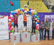 نتایج مسابقات کشوری سنگنوردی نونهالان و نوجوانان جام فجر