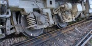 لکوموتیو و یک واگن قطار اهواز-تهران از خط خارج شد | حادثه تلفاتی نداشت