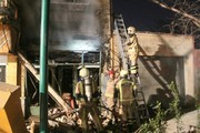 انفجار در قلیان سرا در خیابان ولیعصر(عج)