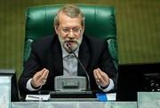 لاریجانی: تصویب طرح اصلاح قانون انتخابات نیاز به دو سوم رأی نمایندگان ندارد