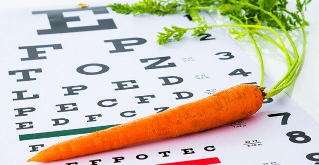 مواد مغذي براي سلامت چشم