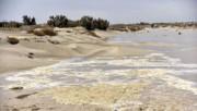 آب پس از ۲ دهه به بخشهای شمالی تالاب هامون وارد شد