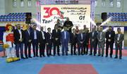 هوگوپوشان ایرانی فاتحان سکوی قهرمانی جام تکواندوی فجر شدند