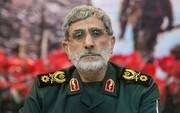 سردار قاآنی: اسد را نیروی قدس سپاه به تهران آورد