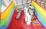 وقوع حادثه برای ۱۸ بچه در شهربازی توچال