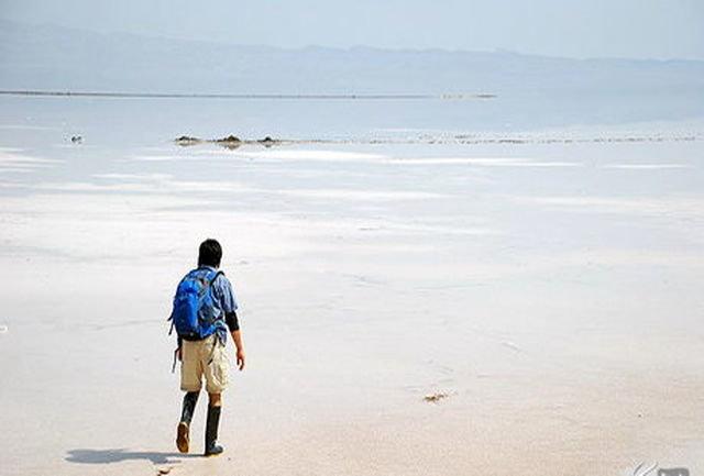 دریاچه نمک قم در شرایط بحران