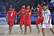 فوتبال ساحلی قهرمانی آسیا؛ ملیپوشان ایران سه امتیاز بازی نخست را کسب کردند