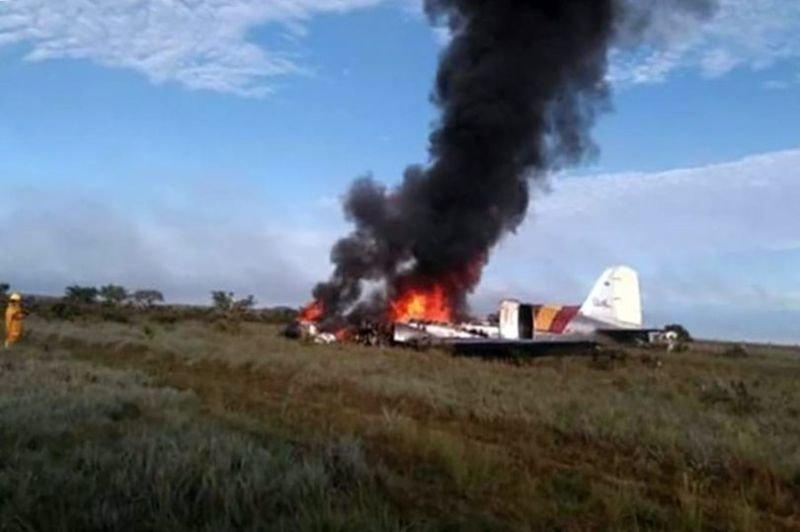 12 تن در سقوط هواپیمای کلمبیایی کشته شدند