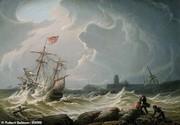 فقط لنگر کشتی طلایی انگلیس پیدا شد