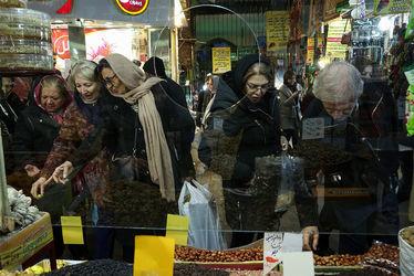 حال و هوای بازار تجریش در روزهای آخر سال