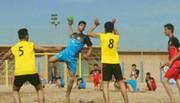 اصفهان قهرمان هندبال ساحلی نوجوانان کشور شد