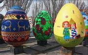 تخممرغهای رنگی در سطح شهر