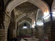 مسجد هزار ساله دزفول کج شده است