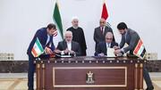 امضای ۵ سند همکاری مشترک میان ایران و عراق