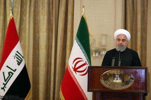 روحانی در جمع نخبگان عراق: استکبار جهانی حامی اصلی تروریستها بود