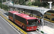 احداث مسیر ویژه اتوبوس در مسیر تهران - کرج