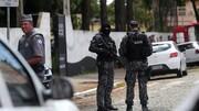 برزیل   دو نوجوان دانشآموزان یک مدرسه را به رگبار گلوله بستند