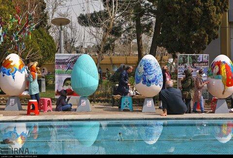 جشنواره تخم مرغ رنگی