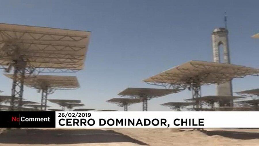 نیروگاه حرارتی خورشیدی شیلی در زمینی به وسعت یکهزار هکتار
