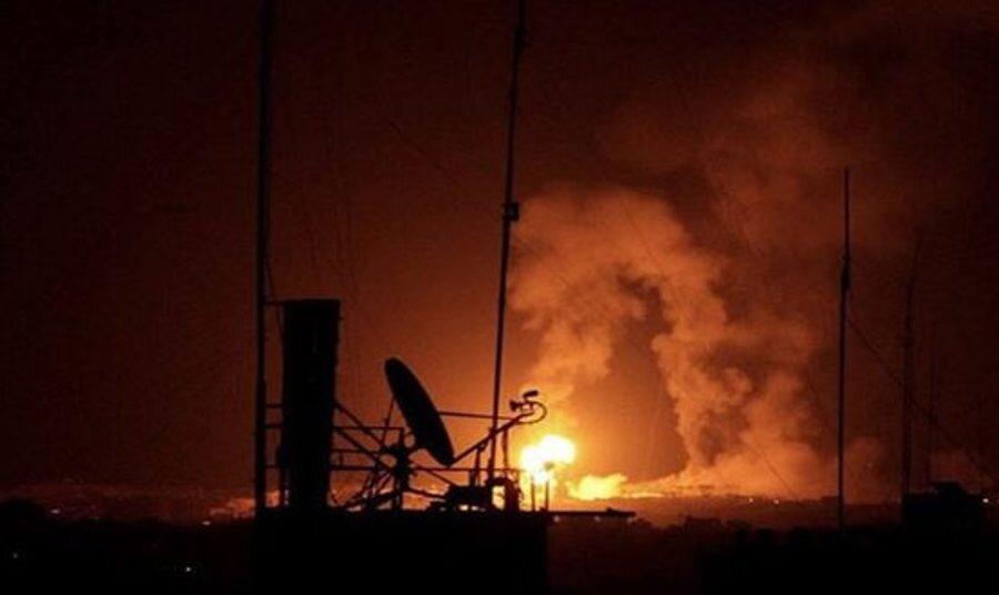 حمله رژيم صهيونيستي به غزه