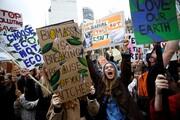 عکس روز: اعتصاب برای زمین