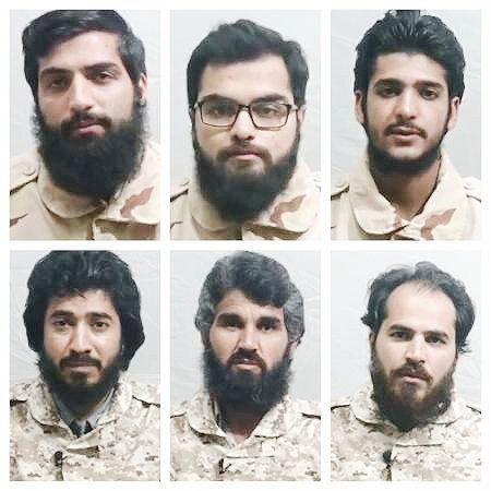 مرزبانان ایرانی ربوده شده