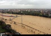 باران شدید در شهرها و روستاهای مازندران