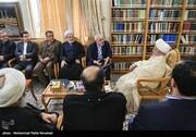 گزارش تصویری | دیدار ظریف با مراجع عظام تقلید