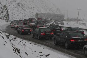 ترافیک سنگین در محورهای خروجی تهران   اعلام چگونگی دریافت اطلاعات از وضعیت جادهها