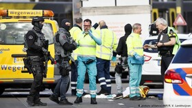 محاصره محل حضور ضارب مسلح در هلند | حادثه تروریستی است