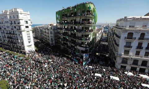 الجزایر در ناآرامی