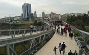 پیادهروی شهروندان و میهمانان نوروزی در ۱۸ مسیر گردشگری