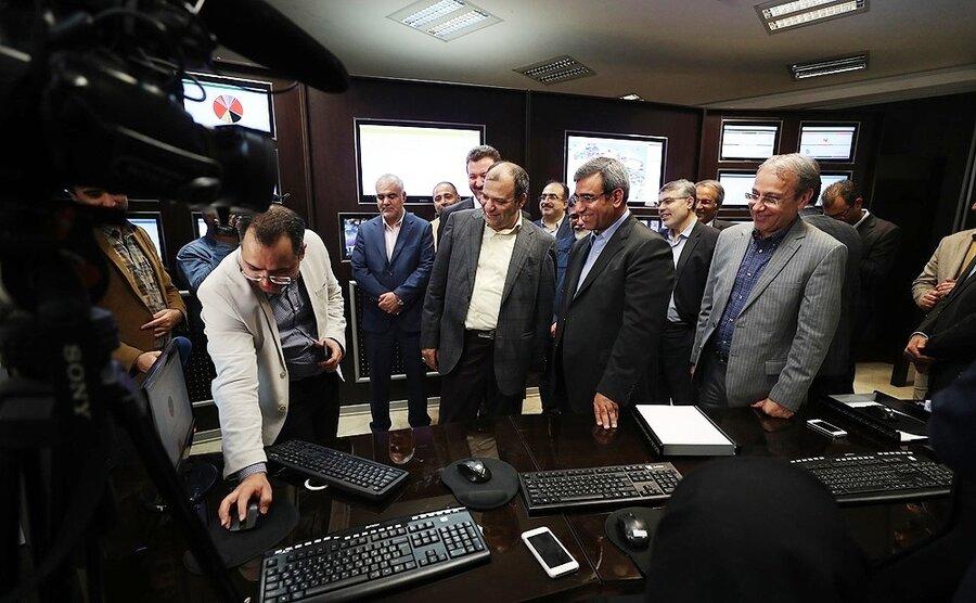 مرکز پایش و مدیریت هوشمند کیش افتتاح شد