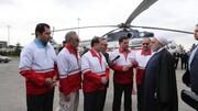 بازدید سرزده دکتر روحانی از ایستگاه سلامت اورژانس