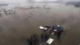 سیل گسترده و اعلام وضعیت اضطراری در نبراسکا، آیووا و میسوری آمریکا