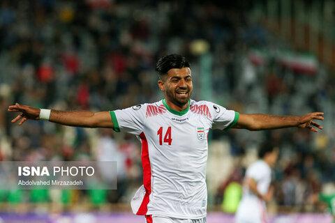 دیدار تیمهای فوتبال امید ایران و ترکمنستان