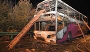 آتش گرفتن اتوبوس گردشگران در چین ۲۶ کشته بر جا گذاشت