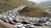 ترافیک نیمه سنگین در آزادراه کرج-تهران