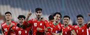 پیروزی تیم فوتبال امید ایران مقابل یمن