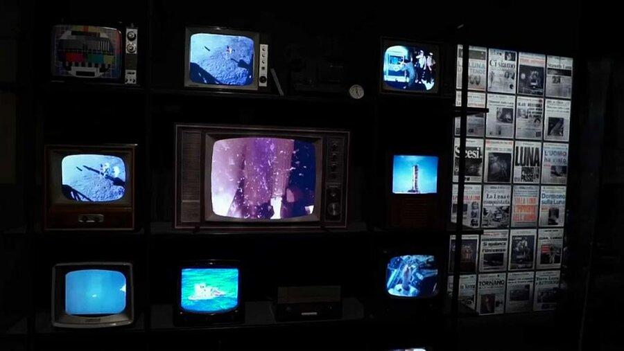 نمایشگاه ماجراجوییهای انسان در فضا در شهر پیزای ایتالیا