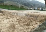 سیل یک روستای چهارمحال و بختیاری را کاملا زیر آب برد