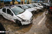 ۱۷ کشته و ۹۴ مجروح در پی ۱۰ دقیقه باران سیلآسای شیراز
