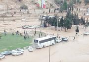 انتقال پیکر ۱۸ جان باخته  حادثه سیل شیراز به پزشکی قانونی
