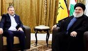دیدار دبیرکل حزبالله لبنان با هیات حماس حول محور غزه